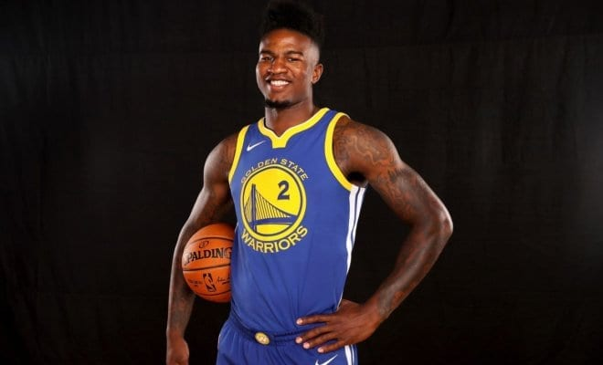 promo code 00cb1 6df44 Jordan Bell Has No Time For DeMarcus Cousins'