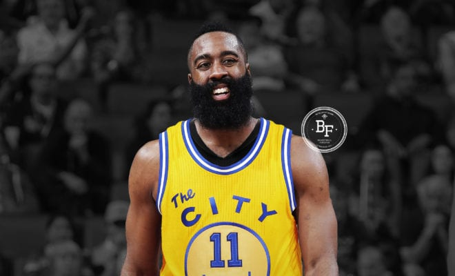 finest selection 4a09d c7f3e The Day OKC Discussed Trading James Harden To Golden State