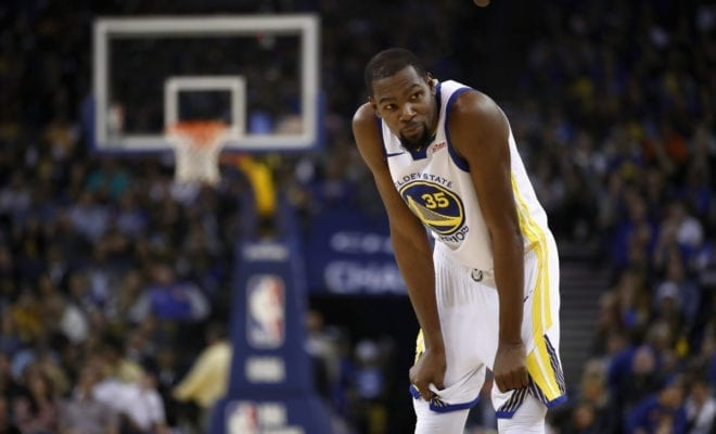 35ba85aacde Kevin Durant: 'Don't Ask Me About That Again'