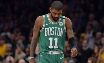 Kyrie Irving Basketball Forever Boston Celtics