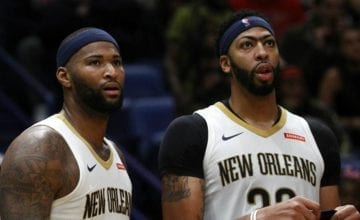 demarcus cousins anthony davis basketball forever