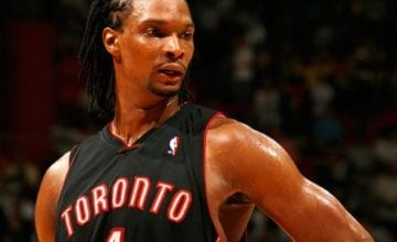 chris bosh toronto raptors