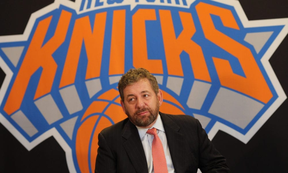James Dolan Knicks