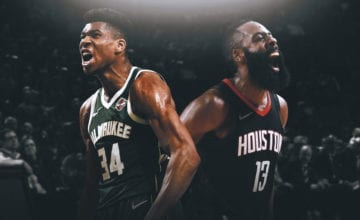 giannis antetokounmpo james harden basketball forever