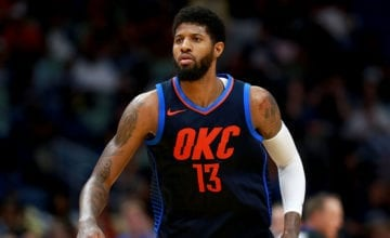 Paul George OKC playing