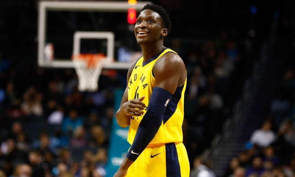 Victor Oladipo smiling