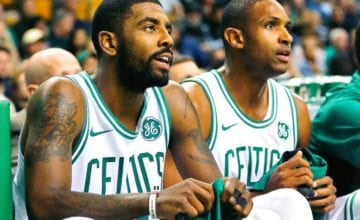 kyrie irving al horford celtics basketball forever