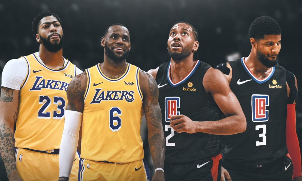 kawhi leonard paul george clippers basketball forever